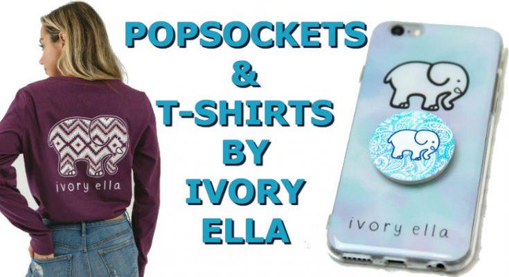 Ivory Ella Popsocket & T-Shirts