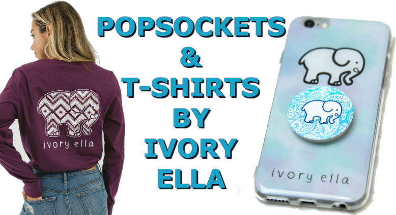 5c3857e1f159 Ivory Ella Popsocket   T-Shirts - New Designs You Will Love For 2018