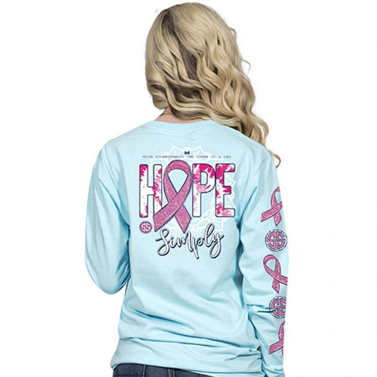 Simply Southern Breast Cancer Shirt - Hope Simply