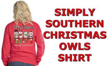 Simply Southern Owls Shirts For Christmas