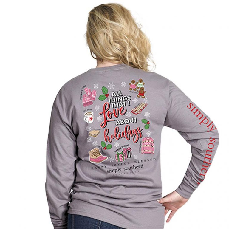Simply Southern Holiday Shirts Christmas Things I love