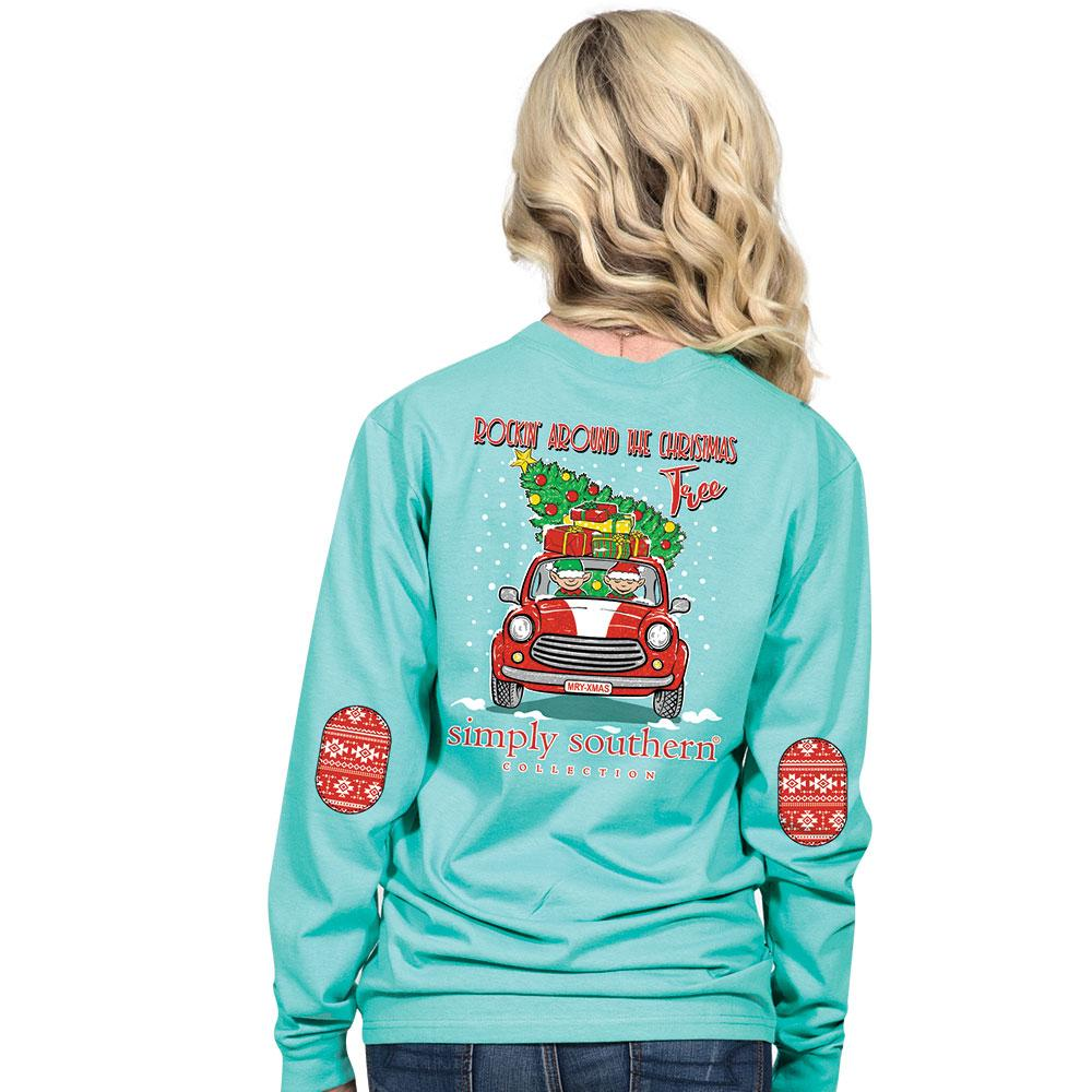 Simply Southern Christmas Tree Shirt