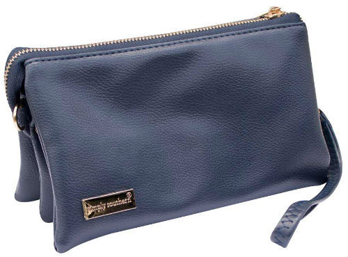 Simply Southern Clutch Purse Navy