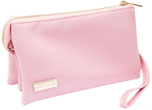 Simply Southern Clutch Purse Pink