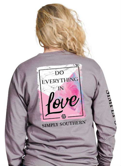 Simply Southern Shirt Everything In Love