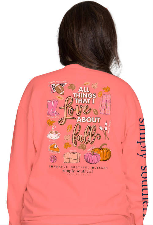 Simply Southern Fall Shirt - Love T-Shirt