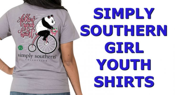 Simply Southern Girl Shirts - Youth Size Tees
