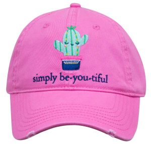 Simply Southern Hats Cactus Beautiful Cap Pink