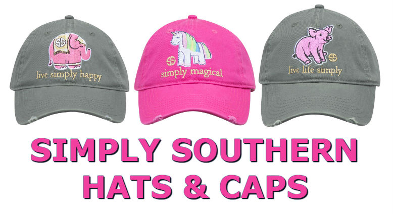 Simply Southern Hats - Baseball Caps - Beanie - Toboggans - For 2018 f711602d049