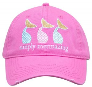 Simply Southern Hats Mermaids Cap Pink