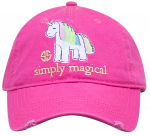 Simply Southern Hats Unicorn Cap Pink