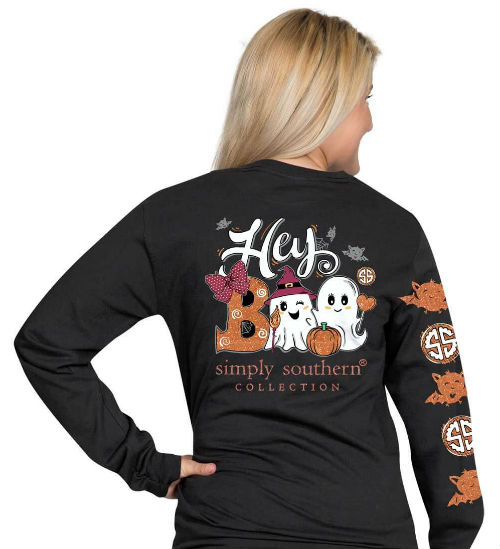 Simply Southern T-Shirt Halloween Hey Boo