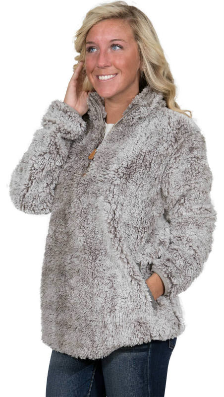 Simply Southern Sherpa Pocket Pullover