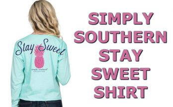 Simply Southern Pineapple T-Shirt Stay Sweet