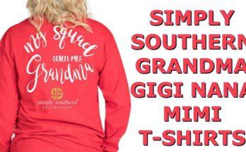 Simply Southern T-Shirt Grandma Nana Mimi Gigi