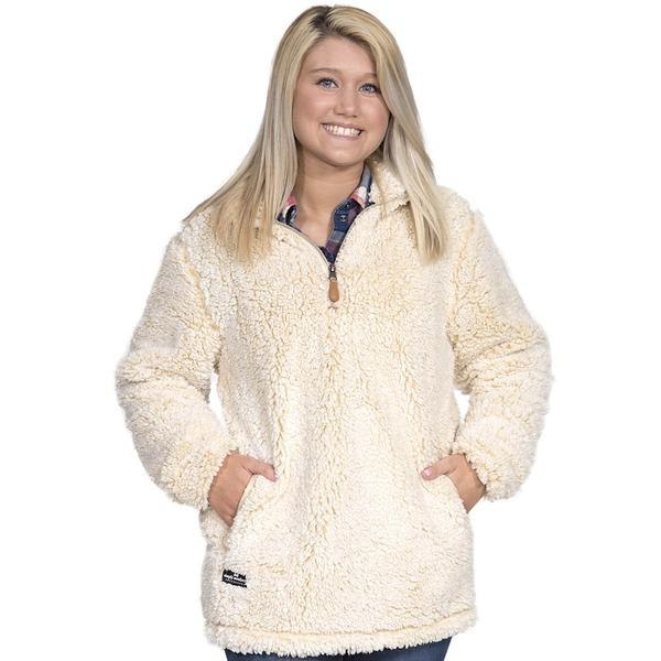 Simply Southern Sherpa Pullover Color Cream