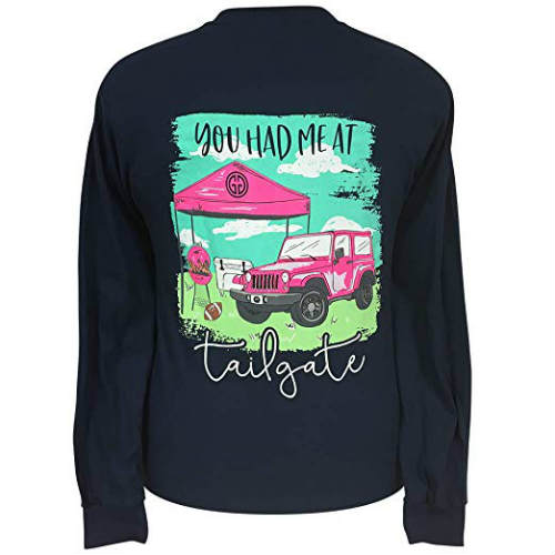 Girlie Girl Originals Jeep Tailgate T-Shirt
