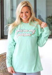 Jadelynn Brooke Shirt Your My Person Long Sleeve