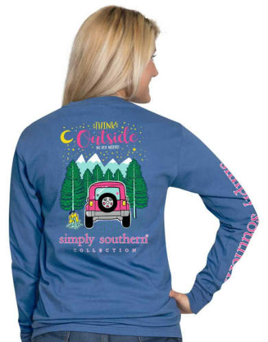 Simply Southern Jeep Shirt - Think Outside