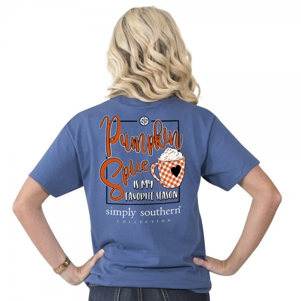 Simply Southern Shirt Pumpkin Spice Favorite Season