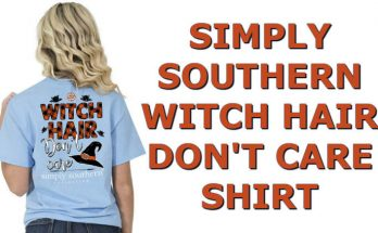 Simply Southern Shirt - Witch Hair Don't Care Tee