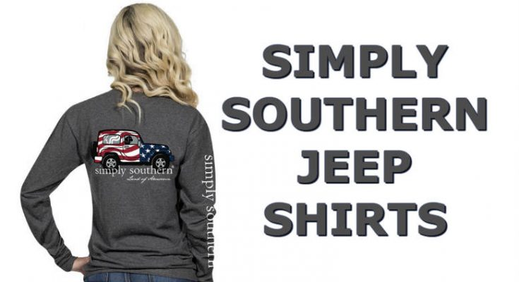 Simply Southern Jeep Shirts