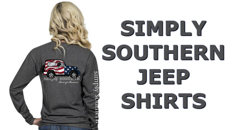 71deb76a05c Simply Southern Jeep Shirt - Long Sleeve   Short Sleeve Tees