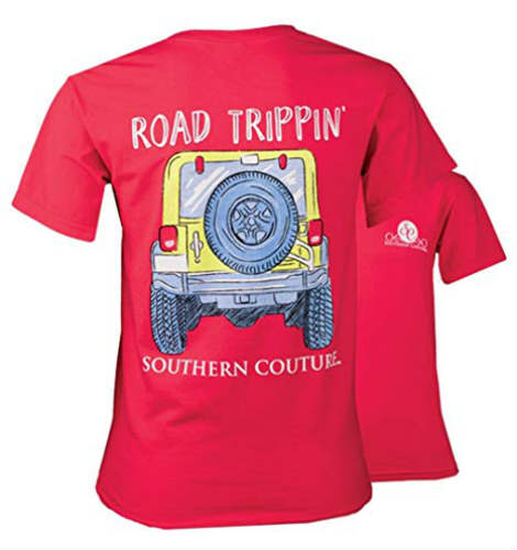 Southern Couture Jeep Road Trippin Shirt
