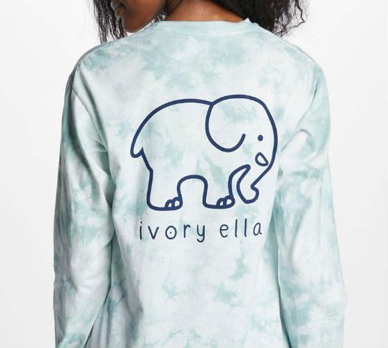 c77794896 Ivory Ella Classic Fit Aolani Pistachio Long Sleeve T-Shirt