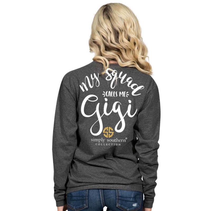 Simply Southern T-Shirt - My Squad Calls Me Gigi