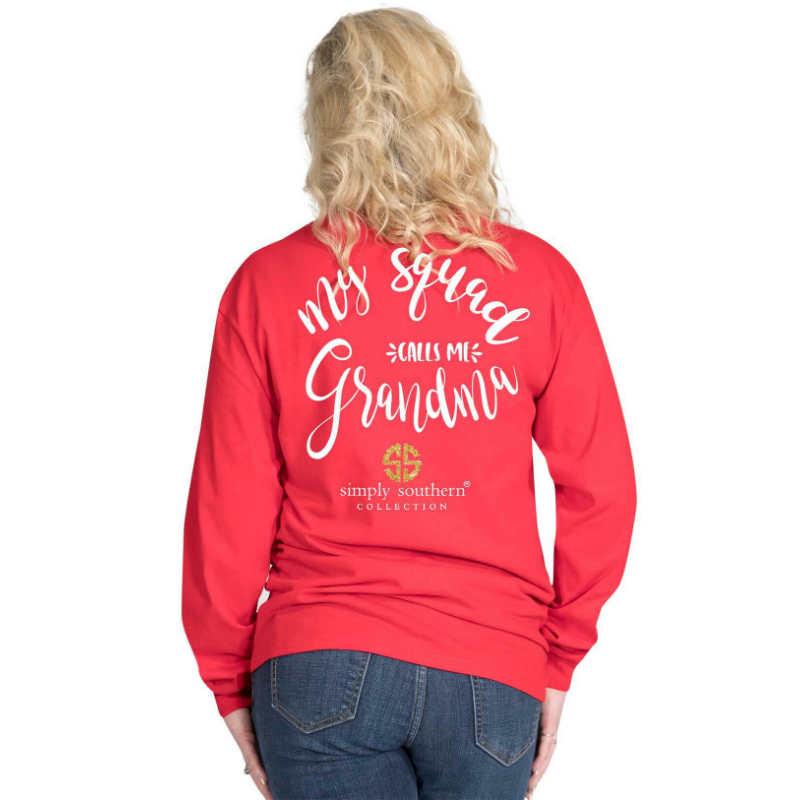 Simply Southern T-Shirt My Squad Calls Me Grandma