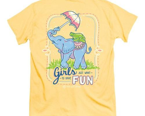 Itsa Girl Thing Girls Have Fun T-Shirt - My Southern Tee Shirts