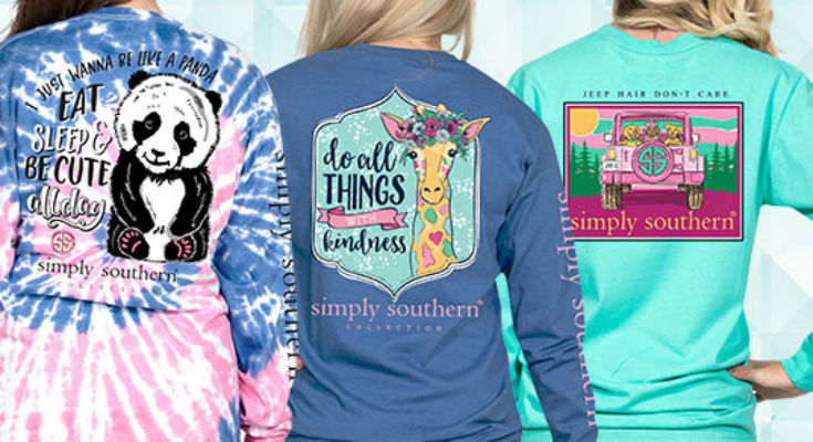 Simply Southern Long Sleeve Shirts New For 2021