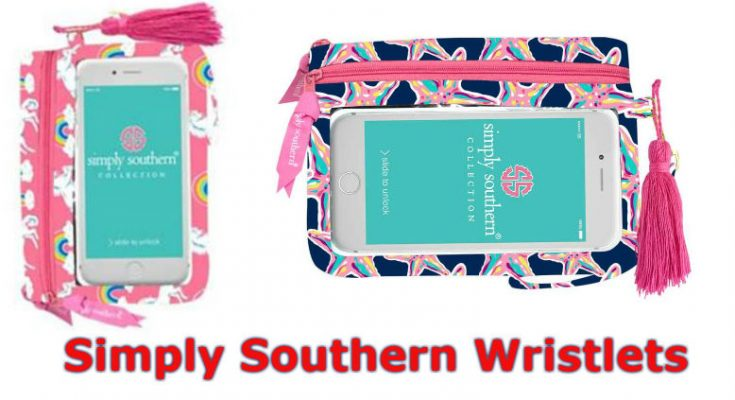 Preppy Simply Southern Wristlet For Phone & Daily Essentials